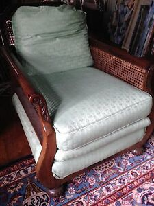 1antique British Colonial Or Anglo Indian Chair Handmade Deco 1920 S Euc