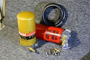 1 Micron Engine Oil Filter Bypass Kit Eliminates Engine Wear 1 16 Ford 6 7 Dies