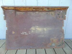 1934 Chevrolet Master 2 Door Sedan Floor Pan Insert Original 1935