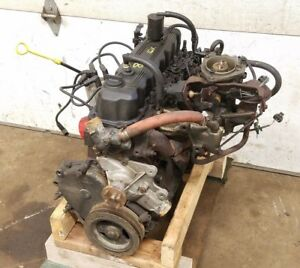 Jeep Wrangler Yj 2 5l 4 Cylinder Engine 87 90 162k Miles Throttle Body Motor 89f