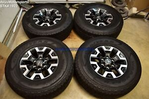 16 Toyota Tacoma Oem Factory Trd Offroad Wheels Tires 4runner Tundra 2019
