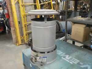 Radiant Portable Construction Heater 250 000 Btu used