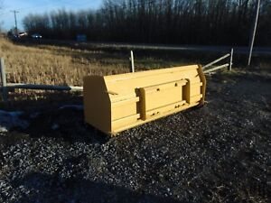 Snow Pusher 8 Skid Steer Snow Pusher Quick Attach Snow Pusher