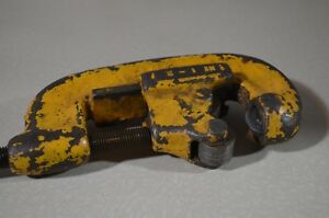 Ridgid Pipe Cutter No 1 2 In Good Working Condition used