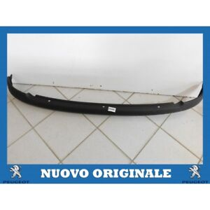 Trim Rear Bumper Moulding Rear Bumper Original Peugeot 206