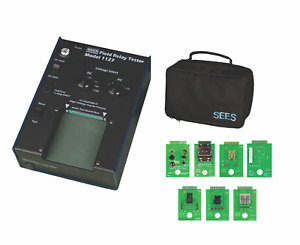 Universal Multi volt Relay Tester With Lamp Test Fixture And Carrying Case