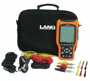 Lang 13805 Automotive Dual Channel Scope graphing Digital Multimeter Save