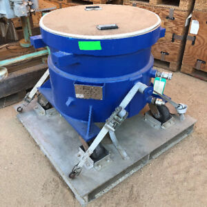 7 5 Cu Ft Stainless Steel Mix Tank 50 Gallon Solids Mixer