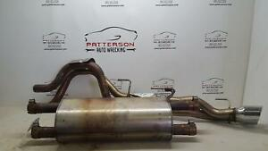 2004 Dodge Ram Pickup 1500 Srt 10 Viper Exhaust System W Dual Pipes