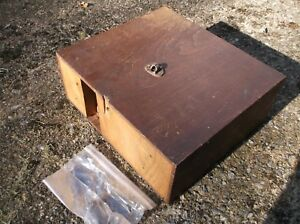 Antique Singer Treadle Sewing Machine Drawer Case Parts Ca 1879