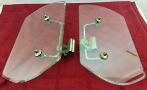 Vintage Automobile Wind Deflectors Touring Car Packard Lincoln 1920s 1930s