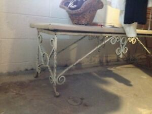 Piano Bench Wrought Iron