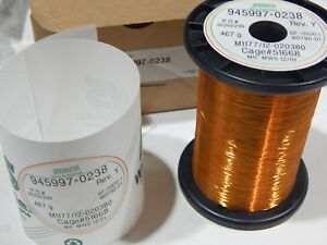 Mws 945997 0238 38awg Copper Magnet Wire 467 Grams M1177 12 020380