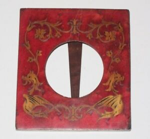 Vintage Sorrento Ware Wood Inlaid Inlay Picture Frame Table Top