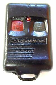 Silencer Vehicle Security Alarm Entry Fob Elv777k Keyless Remote Clicker Control