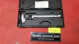 Mitutoyo Japan Made 8 Inch Super Digital Caliper 500 785 cd67 s8ps Ip67 t130