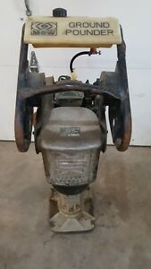 Mbw Ground Pounder R420hc Honda Engine Jumping Jack Wacker Tamper Trench Rammer