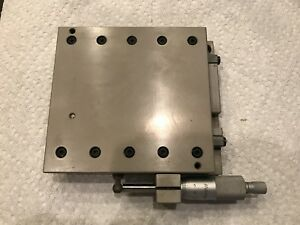 Cleveland Linear Stage With 25mm Mitutoyo Micrometer 5 x5