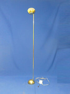 Chic Vintage Brass Kovacs Floor Lamp With Floor Dimmer Switch