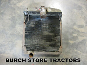 Original Radiator For Farmall Super A Tractors