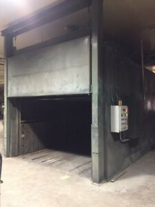 Nordson Powder Coat Paint Booth Oven W Twin Powder Recovery System