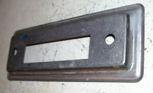 60s 70s 80s 8 Track Face Plate Ford Chevy Mopar Rat Rod