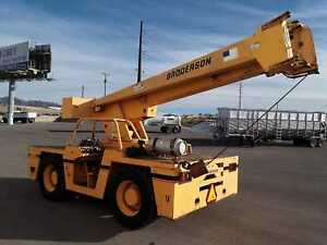Broderson Ic 200 Carry Deck Crane 15 Ton Capacity