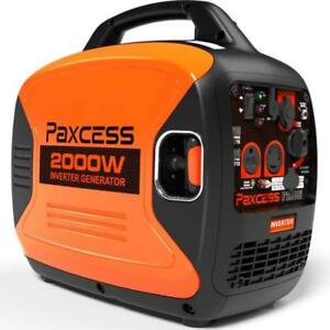 Paxcess 2000 Watts Portable Inverter Super Quiet Gas Powered Rv Generator With E