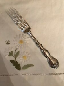 Gorham Strasbourg Sterling Dinner Fork S 7 5 8 2 1 4 Tines Post 1940 No Monos