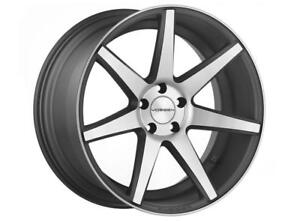 New Vossen Cv7 5x112 Matte Graphite Machine 20x8 5 Et44 20x10 Et55 Cb 66 56