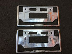 Jdm Subaru Legacy Chrome License Plate Frame Set F s