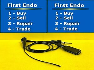 Olympus Enf vq Video Rhinolaryngoscope Endoscope Endoscopy 344 s43