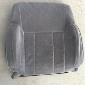 2002 2004 Toyota Tacoma Upper Seat Cover Driver Left Gray Oem