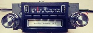 1970 s Ford Am fm 8 Track Radio D8af19a168 serviced Youtube Video