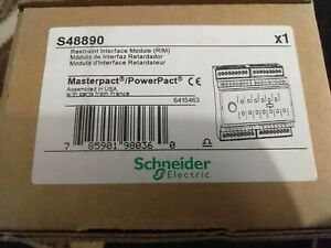 Schneider Electric New S48890 Factory Sealed