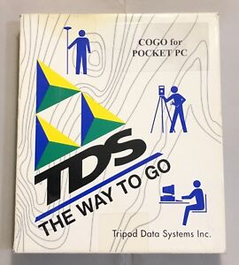 Tds Cogo Card For Handheld Pc compact Flash Card