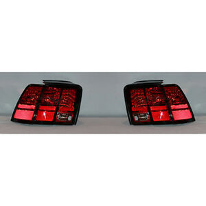 Fits 1999 2004 Ford Mustang Tail Light Driver Passenger Pair Base gt