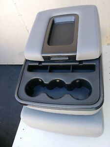 Chevrolet Gm P U And Suv Center Console Jump Seat Grey Fabric Oem