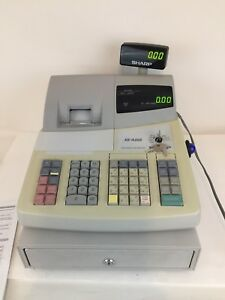 Sharp Xe a202 High Speed Electronic Cash Register Tape Instruction Manual