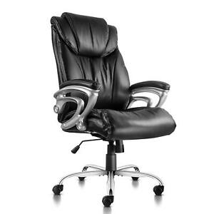 Pto Furniture Executive Office Chair Thick Padding Computer Desk Chair Heavy