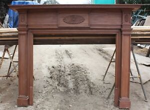 Vintage Chimney Mantel