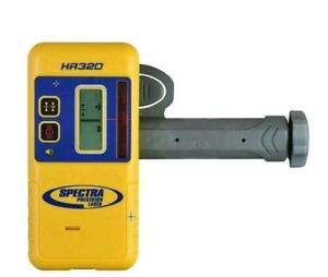 Spectra Precision Model Hr320 Dual Sided Laser Receiver With Priority Mail