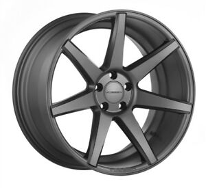 New Vossen Cv7 5x112 Matte Graphite 20x10 5 Et42 Center Bore 66 56