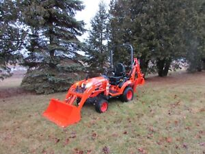 2018 Kubota Bx23s 4x4 Backhoe Loader