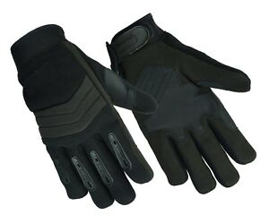 NEW Men#x27;s Breathable No Sweat Knit Police Sheriff Safety Glove with Kevlar $29.94