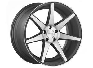 Vossen Cv7 Graphite Machine 20x8 5 Et44 20x11 Et30 5x130 Cb 71 6 set Of 4