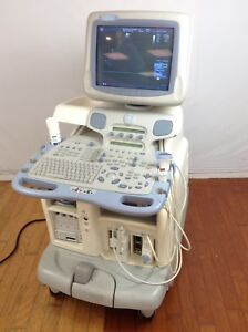 Ge Vivid 7 Dimension Ultrasound Machine W 9l And 3s Transducers Ecg Cable