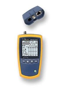 Fluke Networks Ms2 100 Microscanner2 Copper Cable Verifier Built in Intellitone