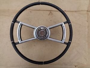 1966 1967 Oldsmobile Toronado Tilt Steering Wheel W Horn Ring Original Gm
