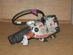03 06 Expedition Right Front Passenger Side Door Latch Power Lock Actuator